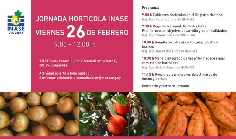 Jornada Hortícola INASE